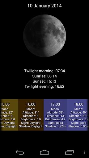LunarLight Moonlight Calendar