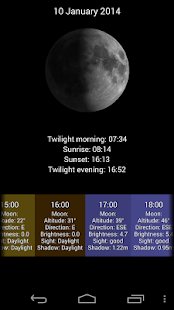 LunarLight Moonlight Calendar - screenshot thumbnail