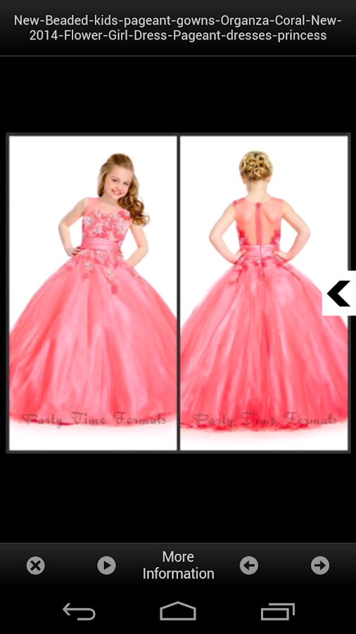 Kids dresses design ideas android apps on google play for Design your wedding dress app