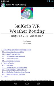 SailGrib WR - Weather Routing v1.9.1