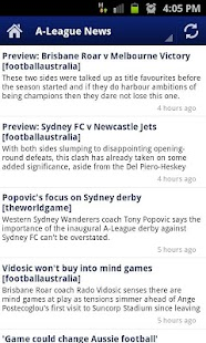 A-League News - screenshot thumbnail
