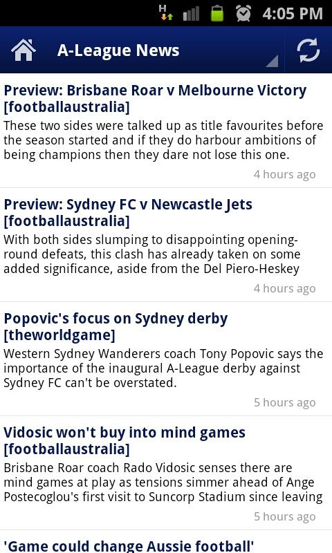A-League News - screenshot