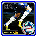 Real Football 2014 Brazil Game mobile app icon