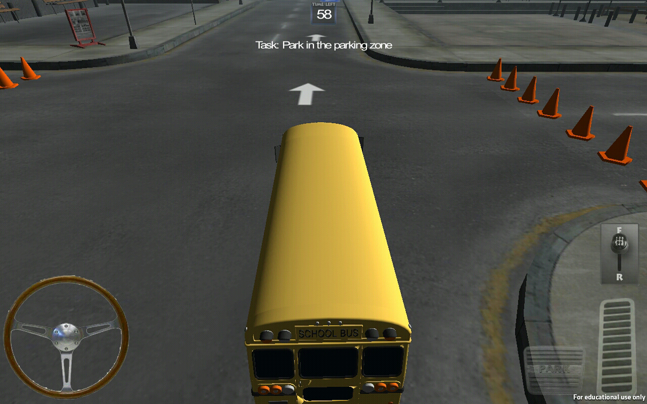 Bus City Parking 3D - screenshot