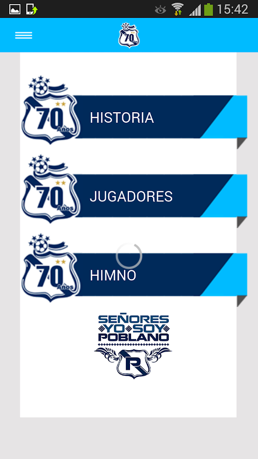 Puebla Oficial- screenshot