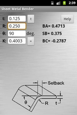 Sheet Metal Bender- screenshot