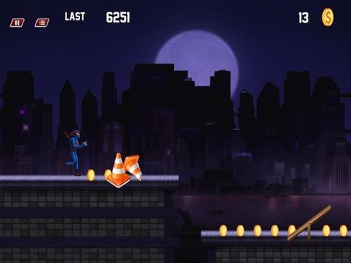 Ninja On Fire - City Trouble