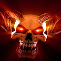 Rock devil skull wallpaper icon