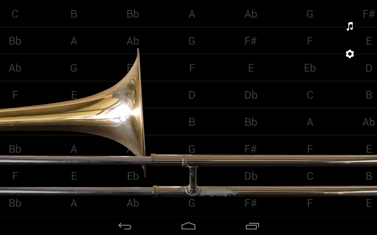 iBone - the Pocket Trombone ™- screenshot