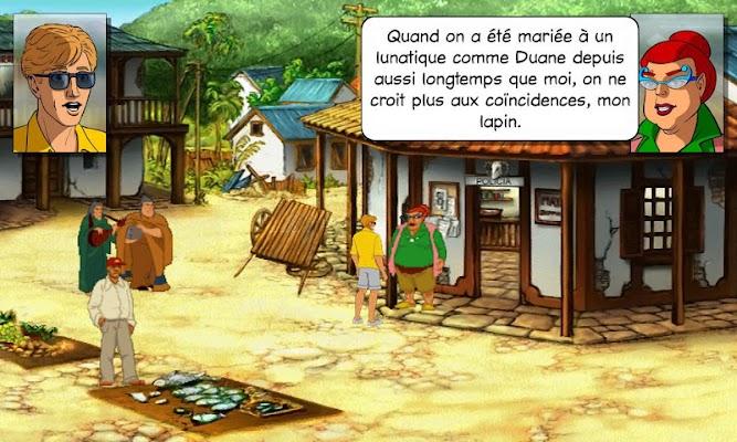 Les Chevaliers de Baphomet 2 - screenshot