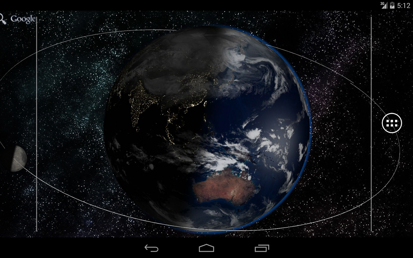 WorldView Live Wallpaper - screenshot