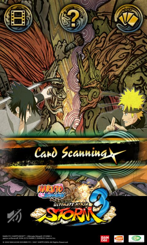 NARUTO CARD SCANNER - screenshot
