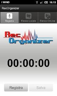 RecOrganizer- miniatura screenshot