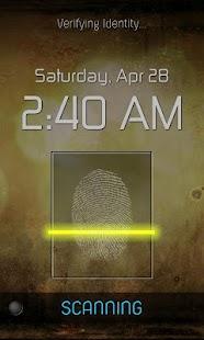 Fingerprint Lock Free