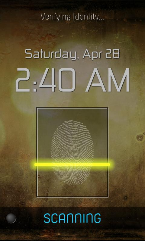 Fingerprint Lock Free - screenshot