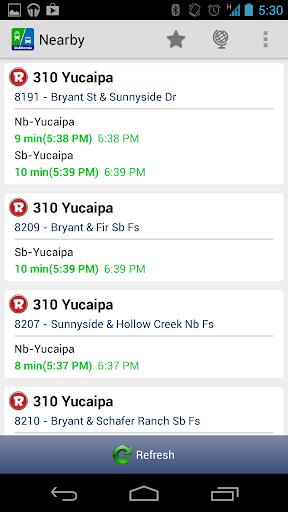 Live Bus Schedule - California