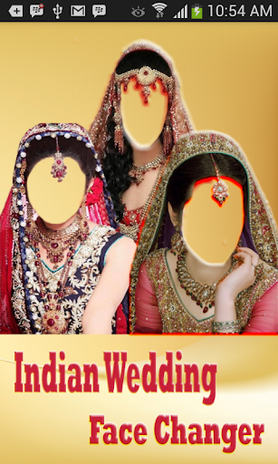 Wedding Saree photo montage