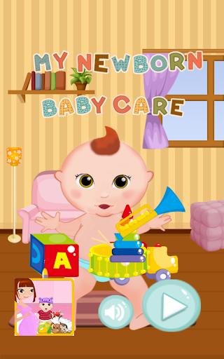 My newborn baby care