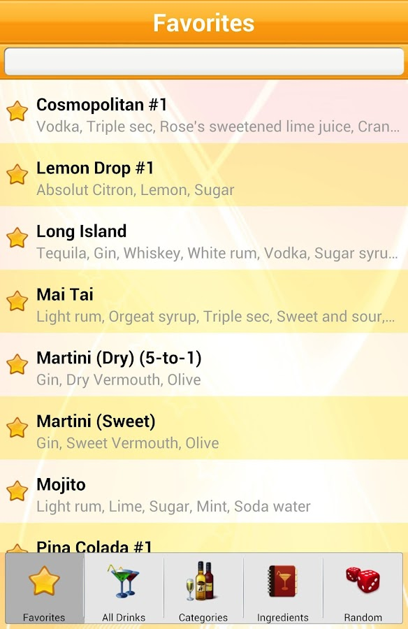 8,500+ Drink Recipes Free - screenshot