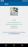 Screenshot of Sweden News