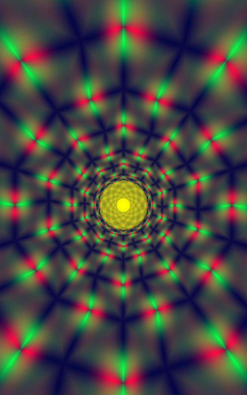 Morphing Tunnels Music Visualizer Screenshot 8