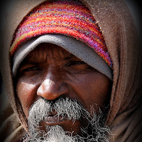 The Glance by Kunal Bhattacharya - People Portraits of Men (  )