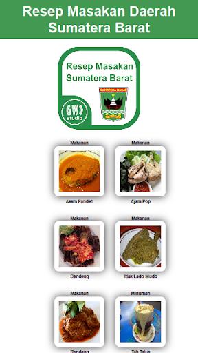 Resep Masakan Sumatera Barat