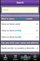 Screenshot of DuoChart Medical Spanish