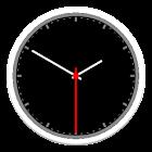 Simple analog clock icon