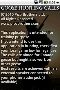 Goose Hunting Calls - screenshot thumbnail