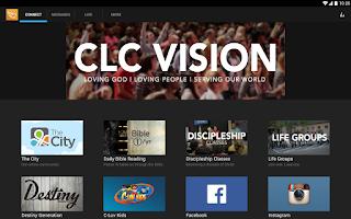 Screenshot of Covenant Love Church