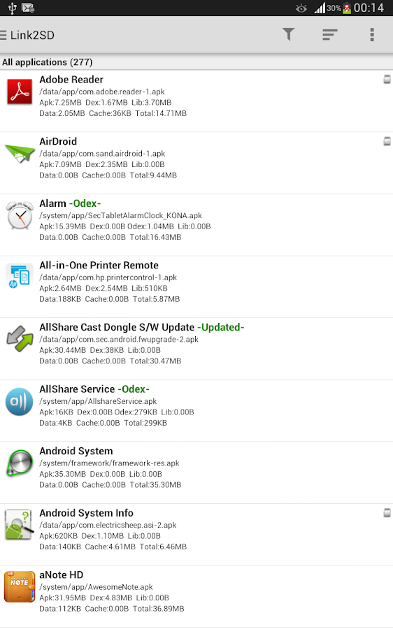 Link2SD Plus (New) - screenshot