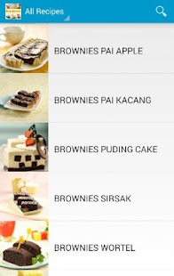 Resep Brownies screenshot