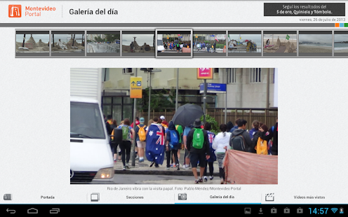 Noticias - Montevideo Portal - screenshot thumbnail