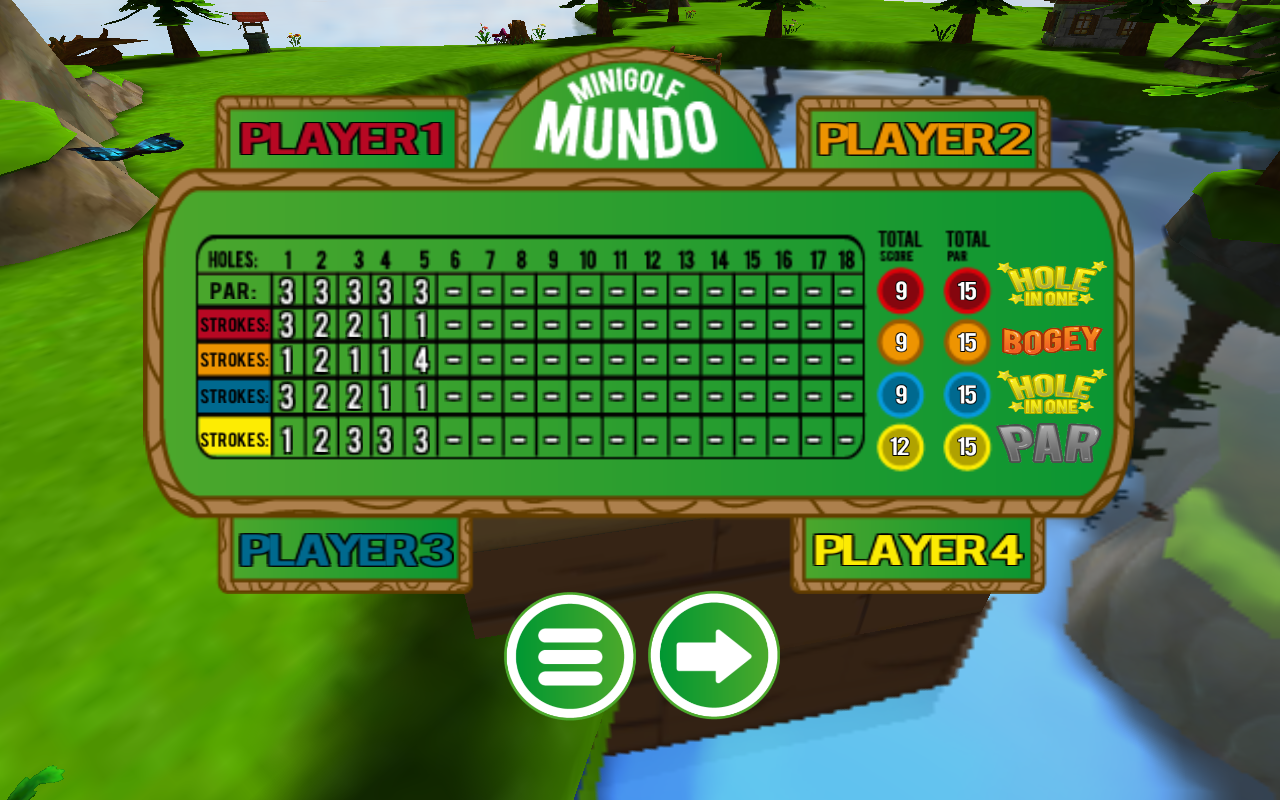 Mini Golf Mundo - screenshot