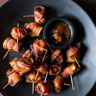 The Elegant Hors d'Oeuvre's Bacon-Wrapped Water Chestnuts.
