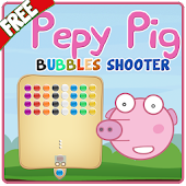 Pepy Pig Bubbles Shooter