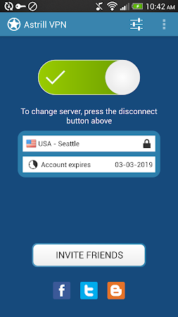 Astrill VPN 2.7 screenshot 128157