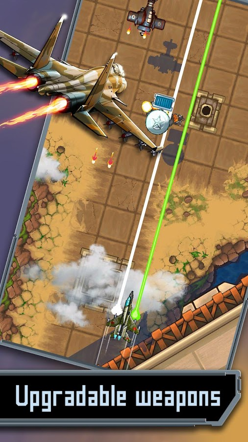 Mig 2D: Retro Shooter!- screenshot