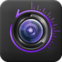 Time-shift camera icon