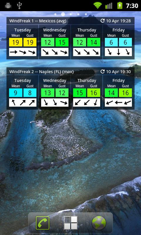 WindFreak Pro - screenshot