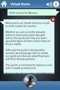 Virtual Nurse - Birth Control - screenshot thumbnail