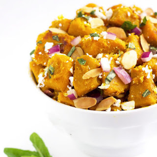 Honey Ginger Glazed Squash Salad {GF & Low Fat}