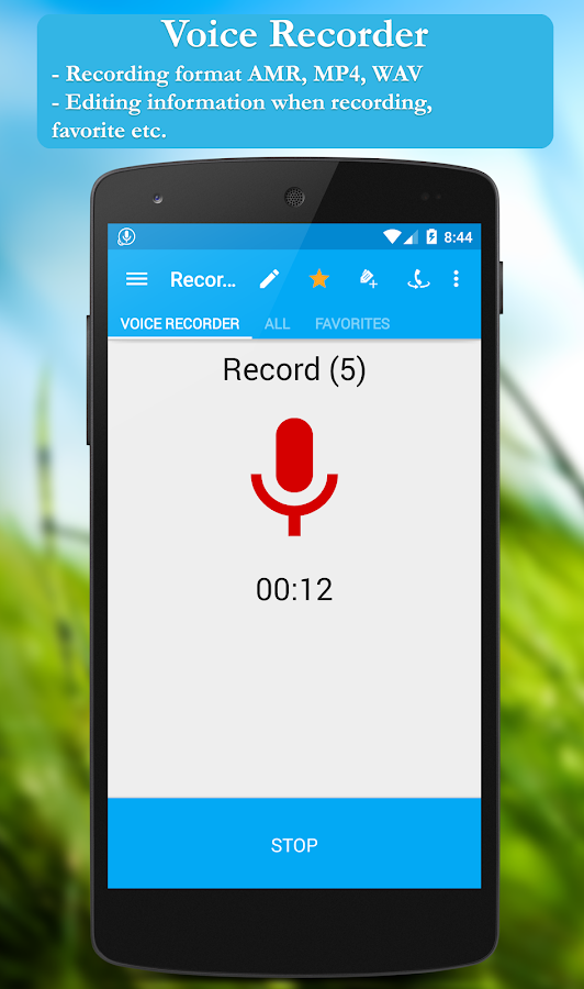 Call recorder: CallRec- screenshot