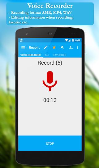 Call recorder (Full) - screenshot