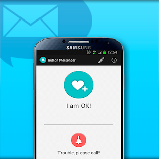 SMS Button Messenger - screenshot thumbnail