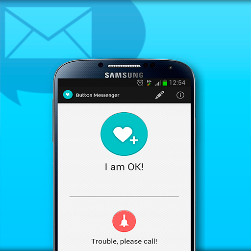 SMS Button Messenger - screenshot