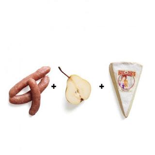 Chicken-Pear Calzone