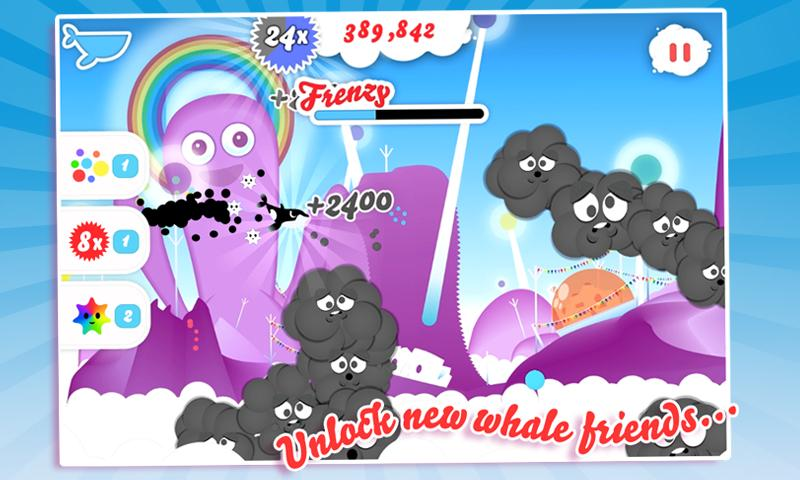 Whale Trail Frenzy - screenshot