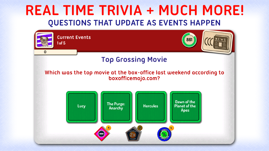 Xac USA: Pop Culture Trivia- screenshot